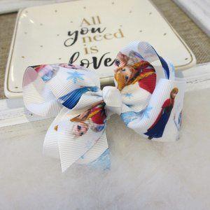 🛍3 for $20 Disney Frozen Hair Bow Clip